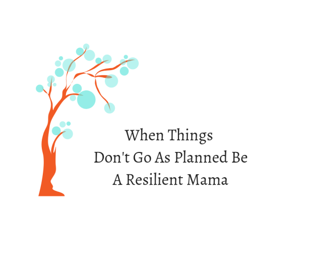 When Things Don't Go As Planned Be A Resilient Mama