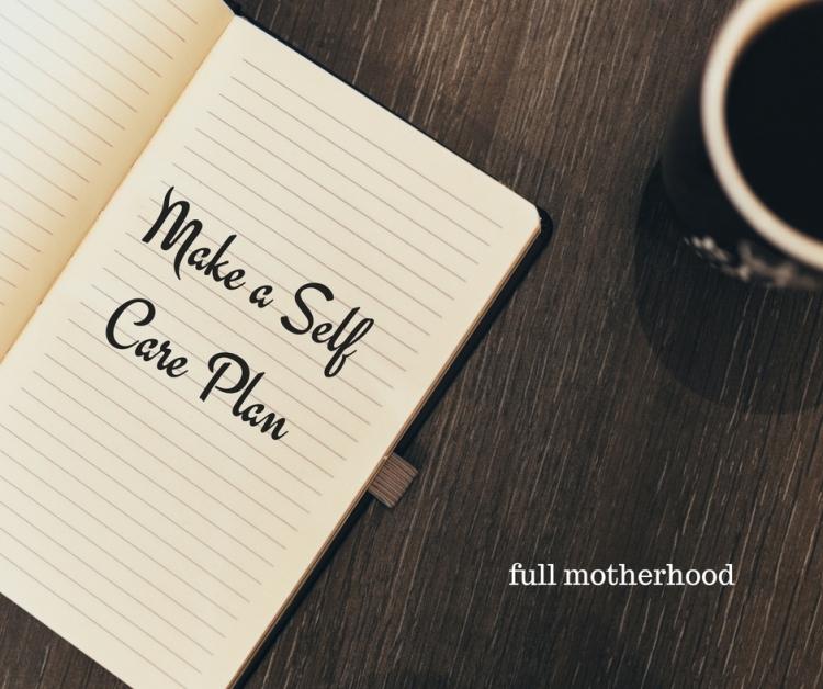 make-a-self-care-plan