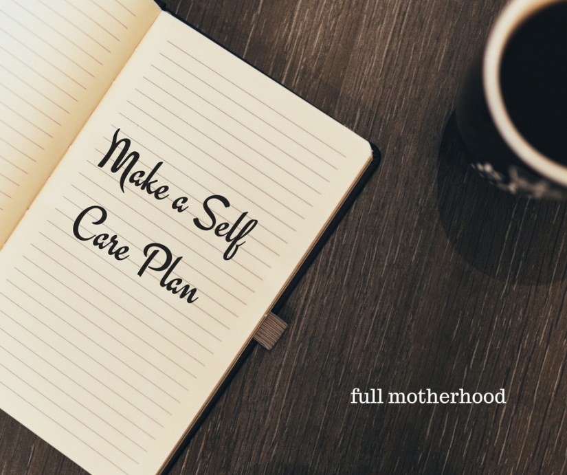 make-a-self-care-plan